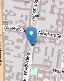 MiniKarteWaldstrasse