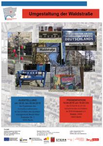 20150303UmgestaltungDerWaldstrasseInfoPoster